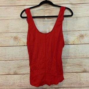 NWT Intimately Free People Red Tank